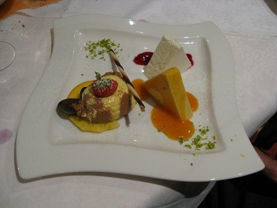 Hotel Vermoi: Dessert