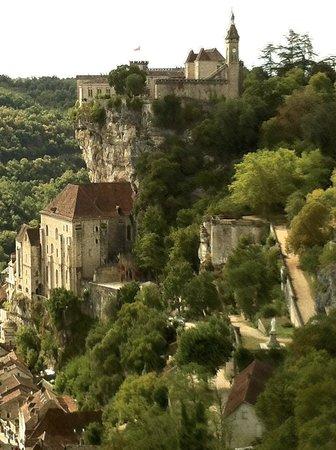 Maison de Marquay: Vue de Rocamadour