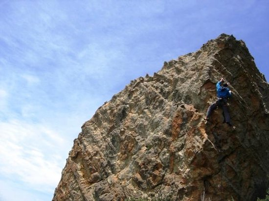 Itchyfeet SA: Rock climb Eagle Mountain, Free State, South Africa