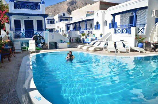 Samson's Village: The swimming pool
