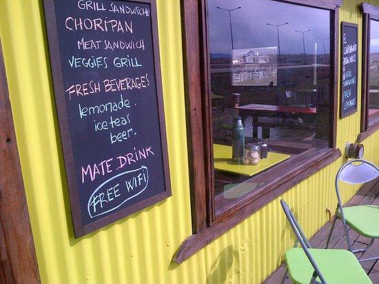 El Chiringuito Patagonico: Grill sandwiches , matebar , free wifi