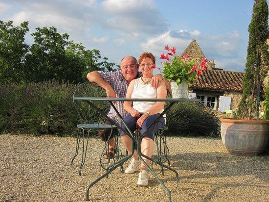 Le Clos Lascazes: Christine et Michel