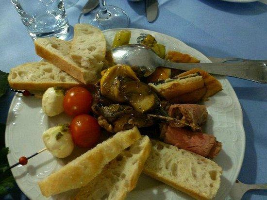 Hotel Friesengeist: gemischte Vorspeise