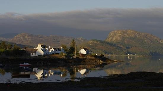 Plockton Hotel: View from the room!