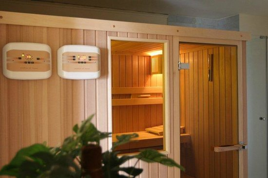 Boutique Hotel Marita: Sauna in presidential suit
