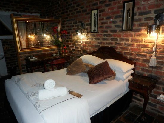 Kameelboom Lodge : unser Bett