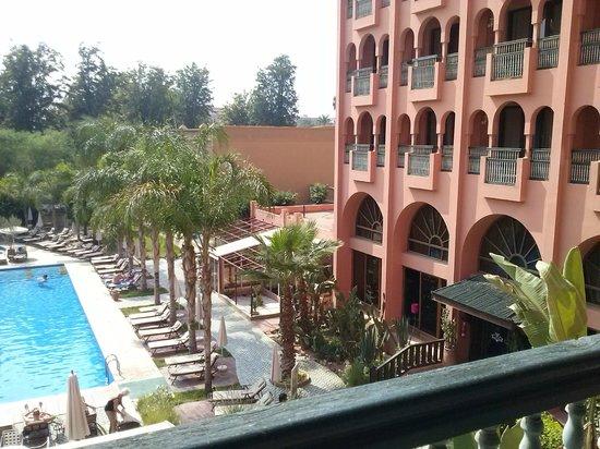 Hotel El Andalous : vue de ma chambre