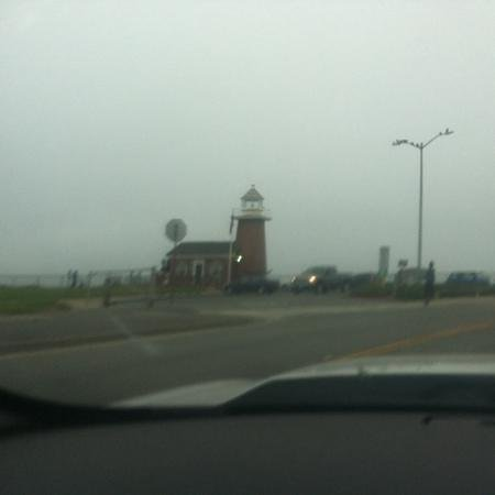 light house in Santa cruz just a minute away from the Ocean Pacific Lodge