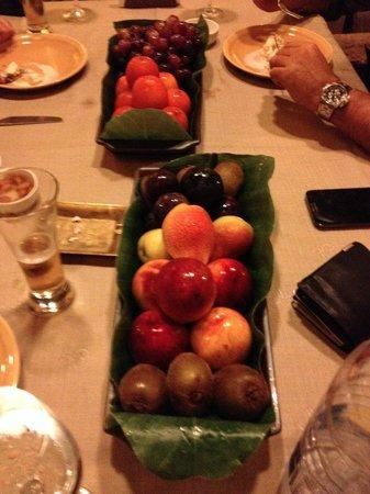 Babel : Frutas, cortesia del Restaurante