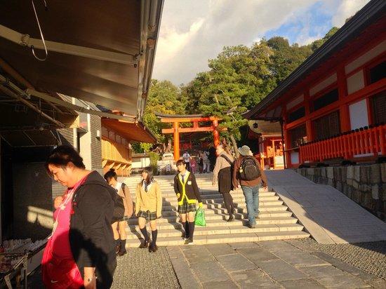 Fushimi Inari-taisha Shrine: Fushimi Inari Shrine exit