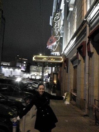 Hotel Savoy Moscow: Front Entrance