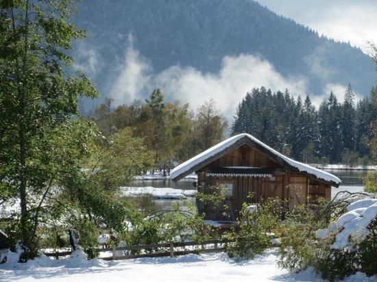 Landhaus Charlotte: fishing hut seefeld