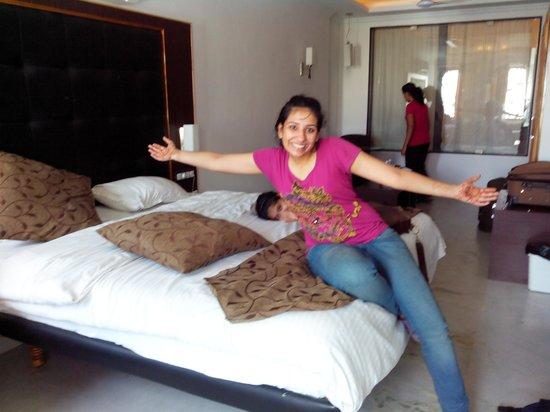 Hotel Mandiram Palace: enjoying the stay