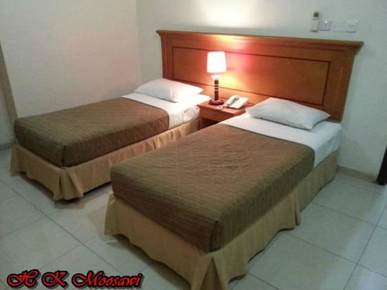 Al Murooj Hotel Apartments : Bed Room