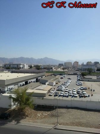 Al Murooj Hotel Apartments : View