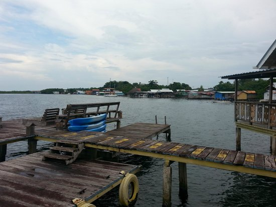 Koko Resort: the Dock. you can fish here. :)