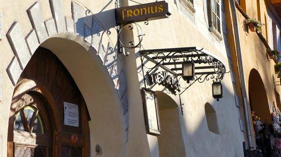 Fronius Residence : Entrance!