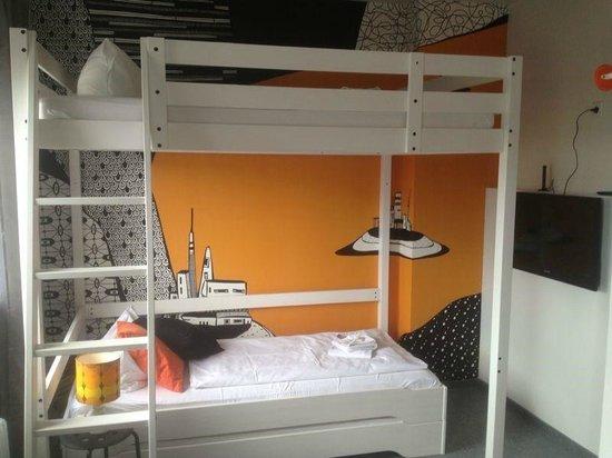 Pyjama Park Hotel und Hostel: Zimmer