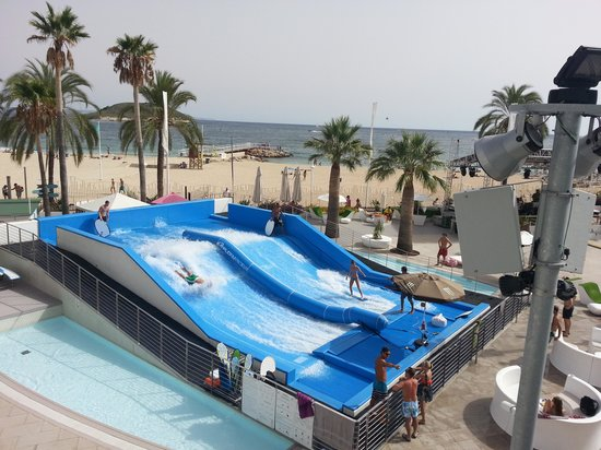 Sol Wave House Hotel: wave