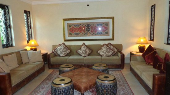 Jumeirah Dar Al Masyaf at Madinat Jumeirah : Villa receiption