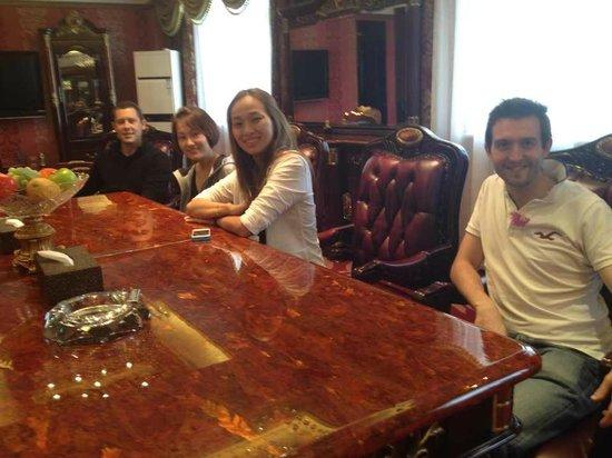 Hansen Wine Fazenda: The presidential suite