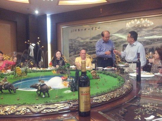 Hansen Wine Fazenda: The Private Dining Room