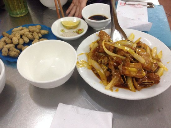 Bia Hoi: Sweet and sour ribs