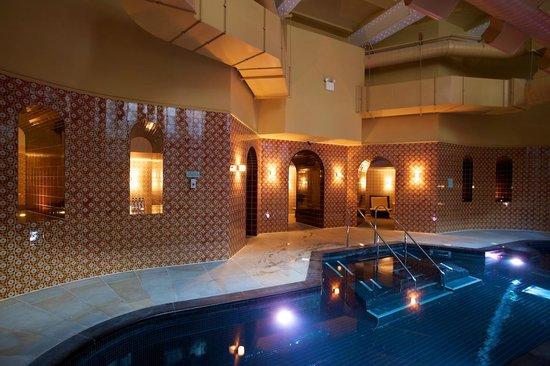 No sleep in the Sauna - Review of Hilton London Euston ...