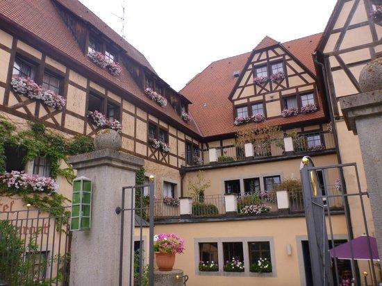 Prinzhotel Rothenburg : 外観
