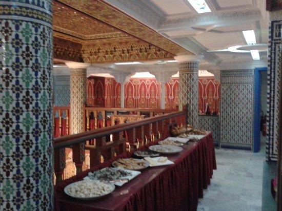 Moroccan House Hotel Casablanca: sala colazione 3