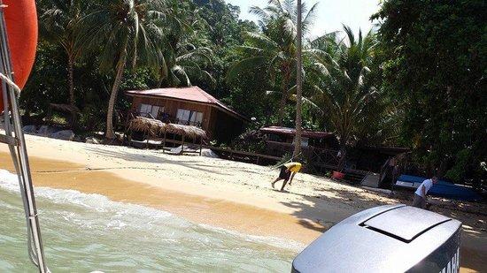 Melina Beach Resort Pulau Tioman Malaysia: Upon arrival