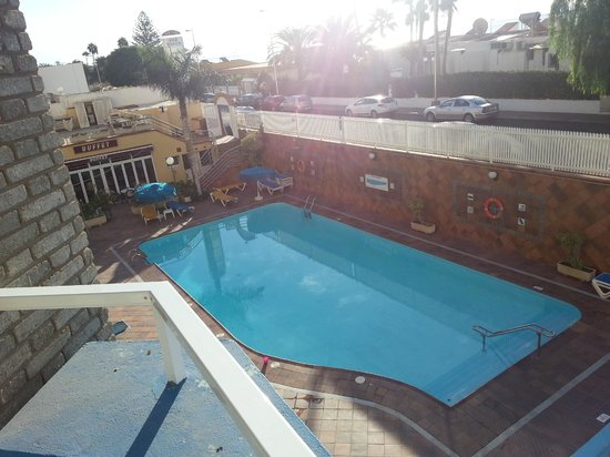 Veril Playa: Part of the pool area