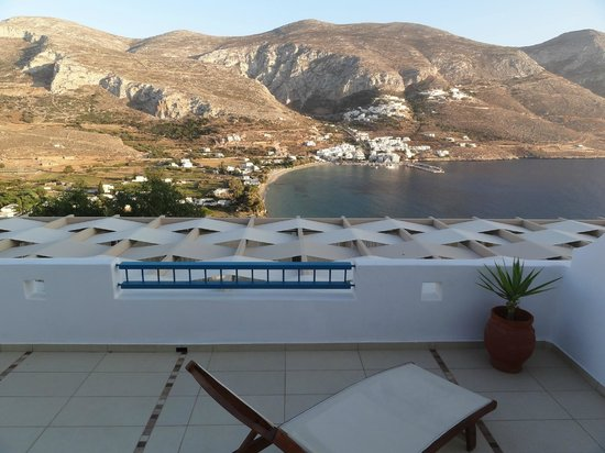 Aegialis Hotel & Spa: View from Spa
