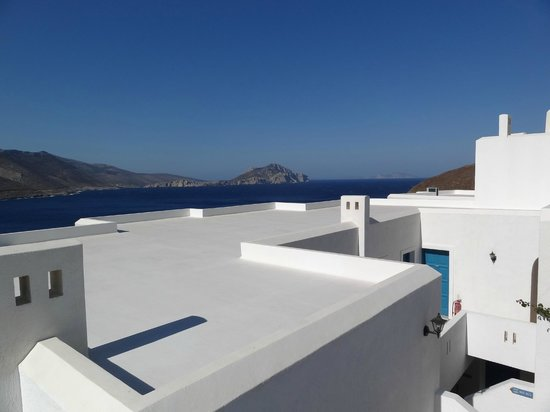 Aegialis Hotel & Spa: View