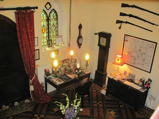 The Rectory Lacock: The original entrance hall