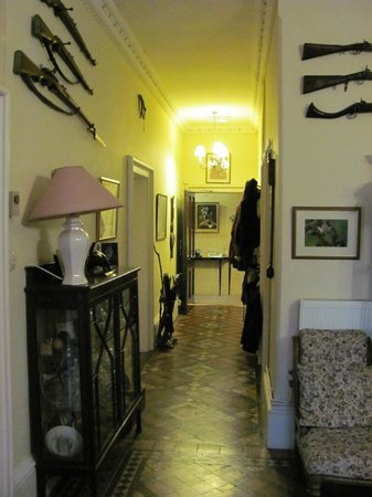 The Rectory Lacock: From the entrance hall
