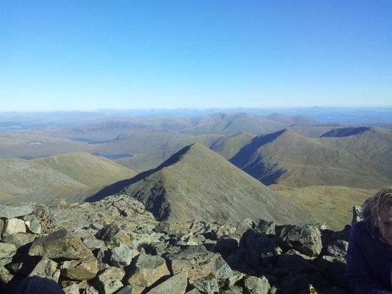 Ben More: Can see for miles!