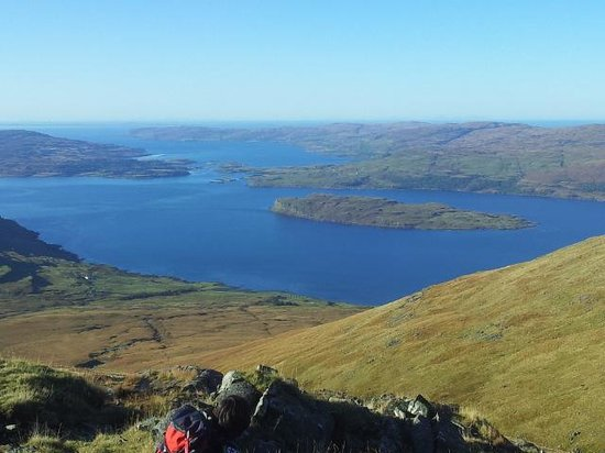 Ben More: At the top