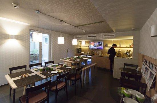 Hotel Le Marcel : Sala Colazione