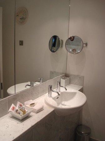 Castell Deudraeth: bathroom