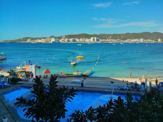 Pool Sea View Of San Remo Club Ibiza Picture Of Hotel Playasol San Remo Sant Antoni De Portmany Tripadvisor