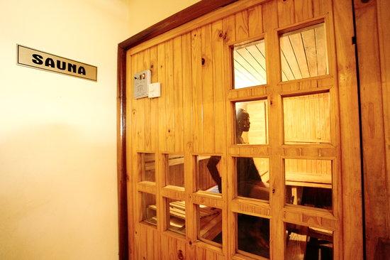 Crossroads Hotel: Sauna
