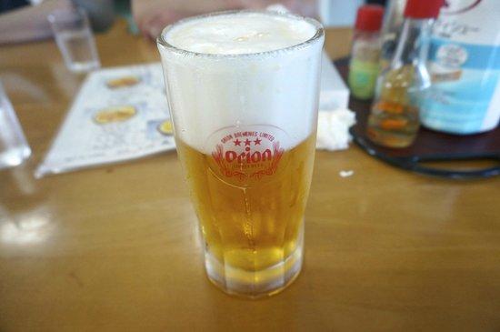 Mayuroshi Shokudo: オリオン生ビール
