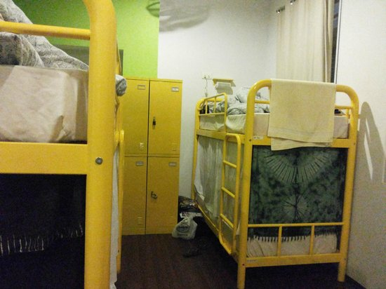 Beary Best! by a Beary Good Hostel!: The room, beds and lockers