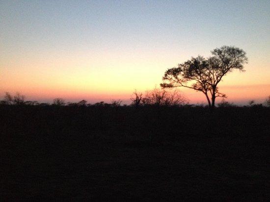 Singita Castleton : A sunset at Singita