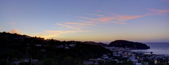 Hotel Pensione Monti: sunset from the terrace