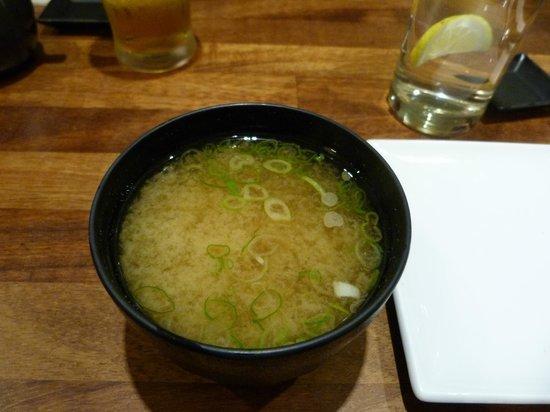 Sushiya: Sopa de miso