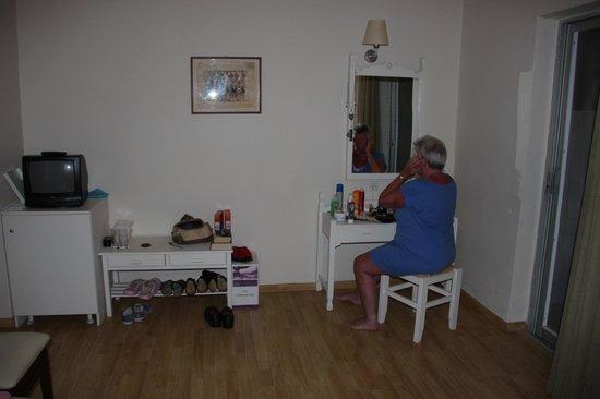 Alianthos Beach Hotel: De kamer waar wij verblijven