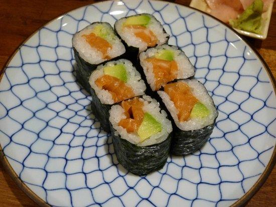 Sushiya: Maki de salmón