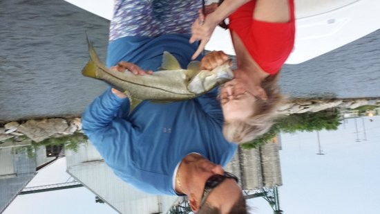 Shallow Point Charters: Snook Kiss